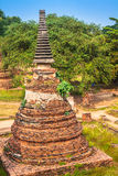 Alter Tempel von Ayuthaya, Thailand Lizenzfreie Stockfotos