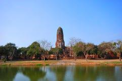 Alter Tempel von Ayutthaya, Thailand. Lizenzfreie Stockfotografie