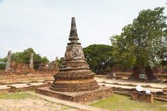 Alter Tempel wat Chaiwatthanaram von Ayuthaya Stockfotografie