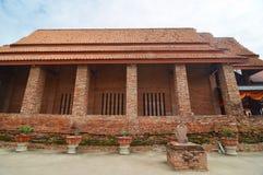 Alter Tempel Wat Yai Chai Mongkhon von Ayuthaya Provinz Lizenzfreies Stockbild