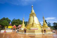 Alter thailändischer Tempel Stockfoto