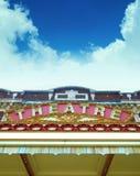 Alter TheaterMarque. Lizenzfreie Stockbilder