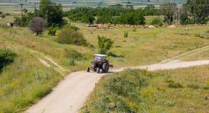 Alter Traktor Lizenzfreie Stockfotografie