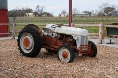 Alter Traktor Stockbild