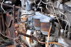 Alter Traktormotor Lizenzfreie Stockfotografie