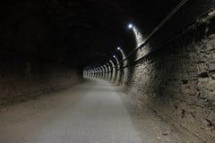 Alter Tunnel in Narni, Italien Stockbild
