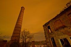 Alter Turm der hellen Malerei Lizenzfreies Stockbild