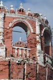 Alter Turm von Don Icon-Kloster in Moskau Lizenzfreies Stockfoto