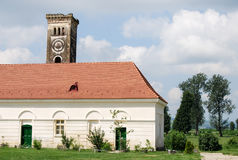 Alter Turm von Schloss Bontida Banffy Lizenzfreies Stockfoto