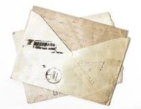 Alter Umschlag Lizenzfreies Stockfoto