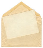 Alter Umschlag der Weinlese Lizenzfreies Stockfoto