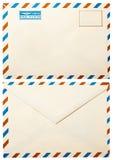 Alter Umschlag mit   Lizenzfreies Stockbild