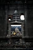 Alter Unterwassertempel an sankhraburi kanchanaburi Thailand Lizenzfreies Stockbild