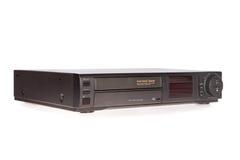 Alter VCR, videokassetten-Schreiber lizenzfreies stockbild