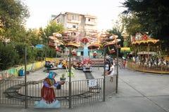 Alter Vergnügungspark in Tirana, Albanien lizenzfreies stockfoto