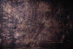 Alter verkratzter dunkler Hintergrund Lizenzfreie Stockbilder