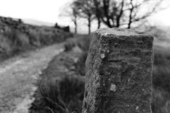 Alter verlassener Bauernhof Stockfoto