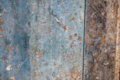 Alter verrosteter Metallbeschaffenheitshintergrund stockbild
