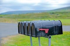 Alter verwitterter Briefkasten Lizenzfreies Stockfoto