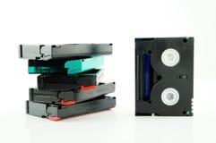 Alter Videorekorderbandsatz Lizenzfreie Stockbilder