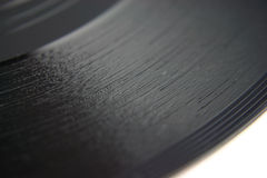 Alter Vinylsatz flacher DOF Lizenzfreies Stockbild
