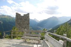 Alter Wachturm Lizenzfreie Stockfotos