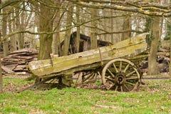 Alter Wagen Lizenzfreies Stockfoto