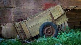 Alter Wagen Stockbild