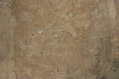 Alter Wandhintergrund mit Nägeln lizenzfreie stockbilder
