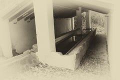 Alter Washhouse Stockbild