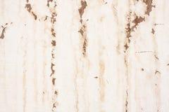 Alter Wasser-Fleck auf der Wand - horizontal Stockfoto