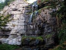 Alter Wasserfall in Kamyanets-Podilskiy, Ukraine Lizenzfreie Stockfotografie
