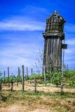 Alter Wasserturm in einem Weinberg lizenzfreie stockfotografie