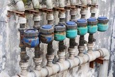 Alter Wasserzähler Lizenzfreie Stockbilder