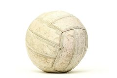 Alter weißer Ball Stockbild