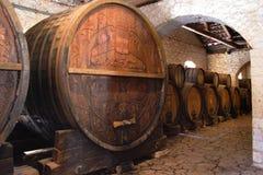Alter Weinkeller Lizenzfreies Stockfoto