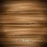 Alter Weinlese-Holz-Hintergrund Lizenzfreie Stockfotografie