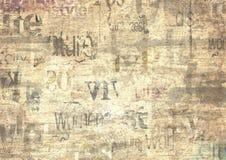Alter Weinleseschmutzzeitungs-Beschaffenheitshintergrund lizenzfreie stockbilder