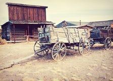 Alter wilder Westen - Cody, Wyoming, USA Stockbilder