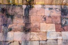 Alter Ziegelstein Lizenzfreie Stockbilder