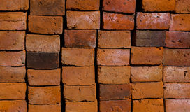 Alter Ziegelstein auf dem Boden Lizenzfreies Stockbild