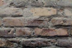 Alter Ziegelsteinbeschaffenheitshintergrund Stockbild