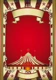 Alter Zirkus lizenzfreie abbildung