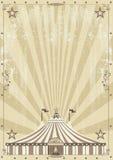 Alter Zirkus grunge Hintergrund Stockfoto