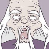 Alter Zombie Lizenzfreie Stockbilder