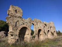 Altere el lado de Ä°n del Burg Foto de archivo