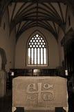Altere en la capilla de la abadía de Holycross Foto de archivo