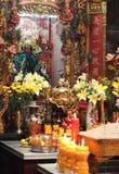 Altere no pagode Chua Min Huong, Ho Chi Minh City, Vietname fotografia de stock royalty free