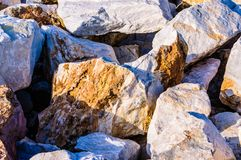 Variety Of Rock Formations Royalty Free Stock Photo