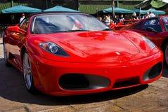 alternacyjny dzień f430 Ferrari przedstawienie pająk Obraz Stock